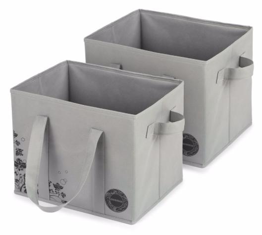 2er Pack Esonmus Aufbewahrungsboxen (25 Liter, 33x28x25cm) für 8,83€ mit Prime