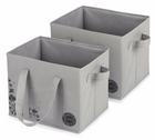 2er Pack Esonmus Aufbewahrungsboxen (25 Liter, 33x28x25cm) für 9,34€ mit Prime
