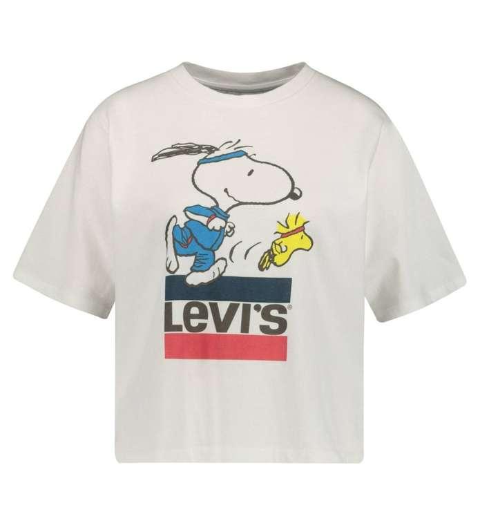 "Levi's Damen T-Shirt ""Graphic Boxy Tee Snoopy Torch"" für 18,57€ inkl. Versand (statt 23€)"