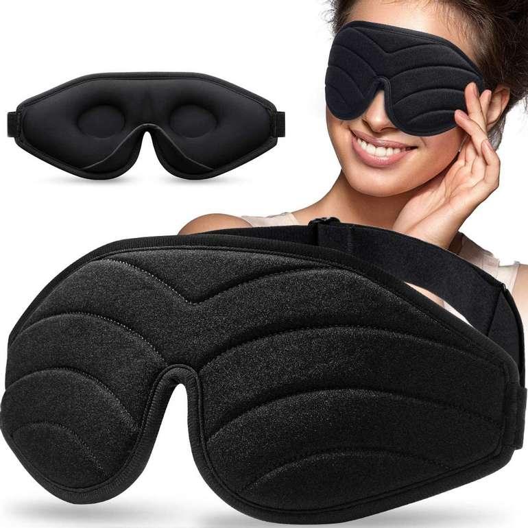 Unimi weiche 3D Schlafmaske für 6,99€ inkl. Prime Versand (statt 14€)