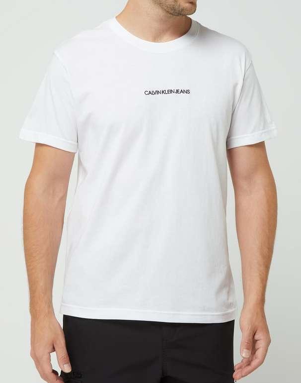 Calvin Klein Jeans Instit Chest Logo Reg T-Shirt für 21,24€ inkl. Versand (statt 26€)