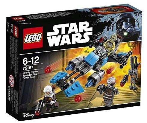 LEGO Star Wars - Bounty Hunter Speeder Bike Battle Pack für 9,99€ (statt 15€)