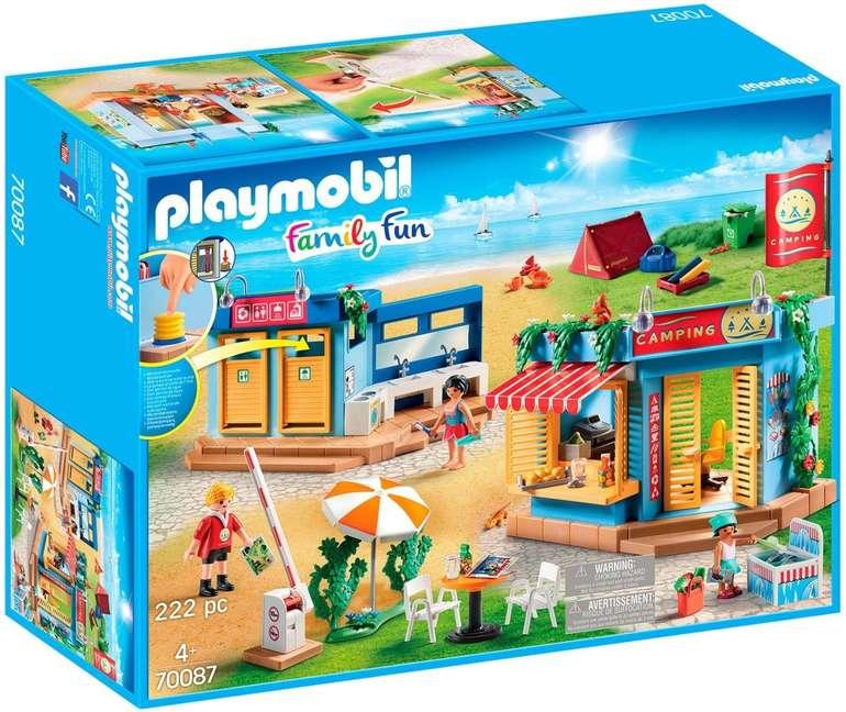 Playmobil Family Fun - Großer Campingplatz (70087) für 29,63€ inkl. Versand (statt 41€)