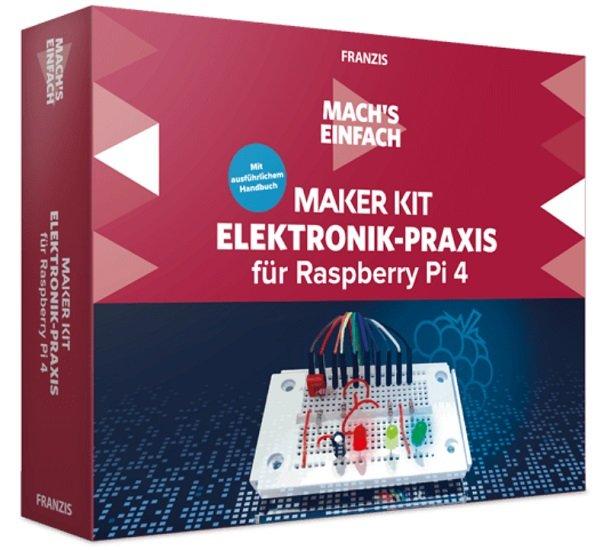 Franzis Maker Kit Elektronik-Praxis für Raspberry Pi 4 für 15€ inkl. Versand (statt 25€)