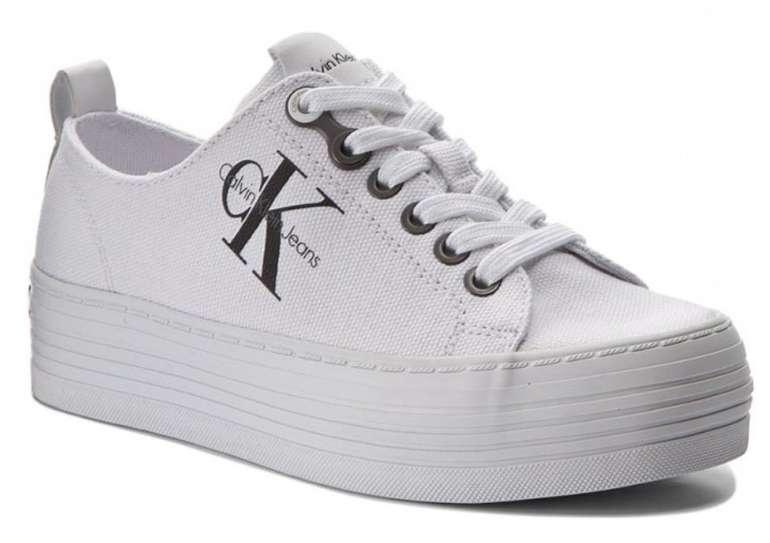 Calvin Klein Jeans Plateau Sneaker Zolah Canvas für 52€ inkl. Versand (statt 80€)