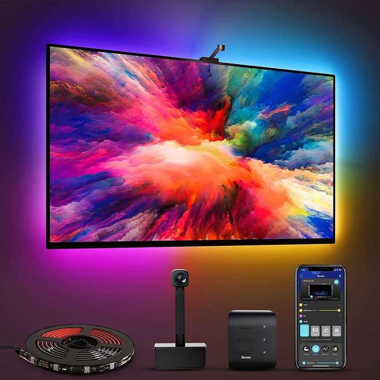Govee Immersion WiFi LED TV Hintergrundbeleuchtung mit Kamera für 55,79€ inkl. Versand (statt 76€)