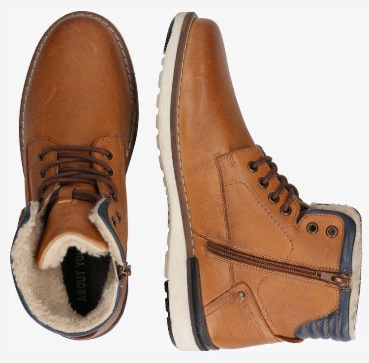 """About You Herren Boots """"Lennard"""" in cognac für nur 14,90€ inkl. Versand (statt 75€)"""