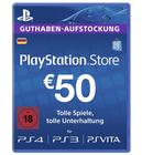 Schnell! 50€ PSN Playstation Guthaben für 37,10€ (statt 43€)