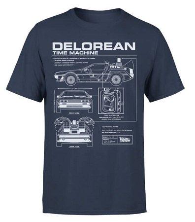 """T-Shirt """"Zurück In Die Zukunft - Delorean"""" für 10,79€ inkl. VSK"""