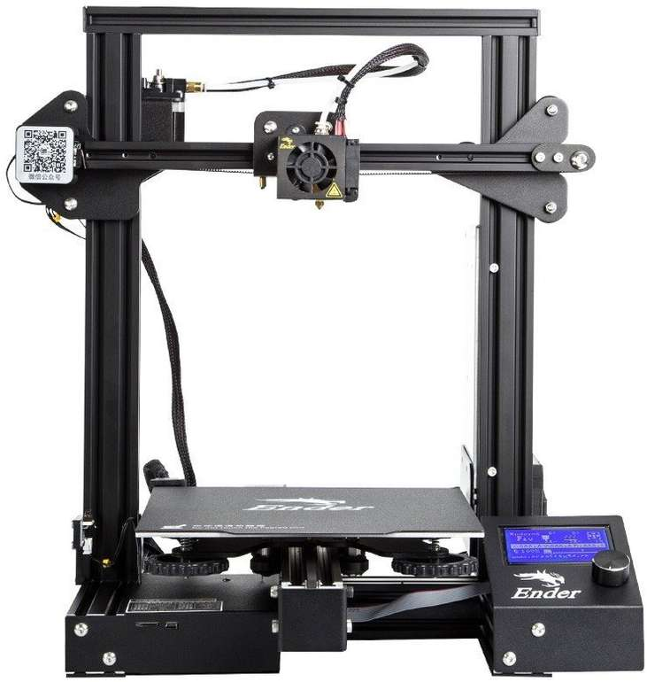 Creality 3D Ender 3 Pro 3D Drucker (Objektgröße: 220x220x250mm) für 184,99€ inkl. Versand (statt 232€)