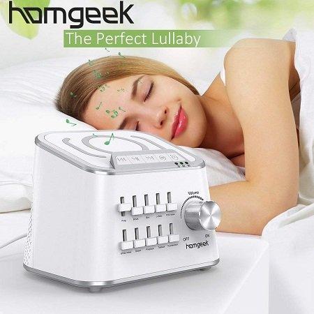 Homgeek - Einschlafhilfe mit Bluetooth Lautsprecher für 27,99€ inkl. VSK