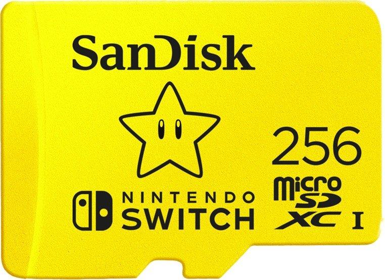 SanDisk microSDXC für Nintendo Switch (2018) mit 256GB für 39,69€ inkl. Versand (statt 48€)