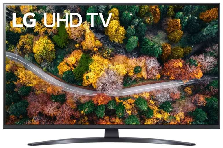 LG 43UP78009LB - 43 Zoll UHD 4K LCD Smart-TV (webOS 6.0, LG ThinQ) für 428,90€ inkl. Versand (statt 589€)