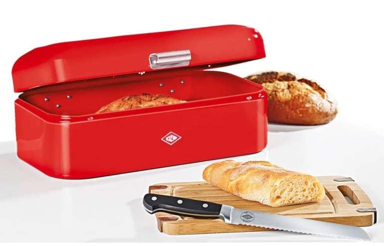 Wesco Grandy Brotkasten + Messer + Schneidebrett für 52,97€ inkl. Versand (statt 77€)
