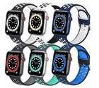 Rtyhi 6er Pack Armbänder (Kompatibel mit Apple Watch) für 10,91€ inkl. Prime Versand (statt 26€)