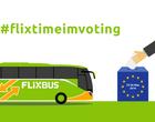 FlixBus schenkt euch die Fahrt zur Europawahl - Geld als Gutschein zurück