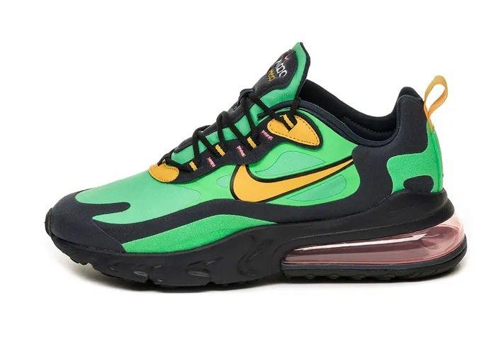 Nike Air Max 270 React in grün für 79,20€ inkl. Versand (statt 95€)