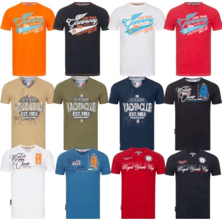 Geographical Norway Herren T-Shirts (100% Baumwolle, versch. Farben) für je 17,90€ inkl. Versand