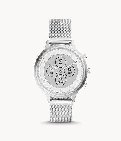 Fossil Hybrid Smartwatch HR Charter Edelstahl für 109€ inkl. Versand (statt 159€)