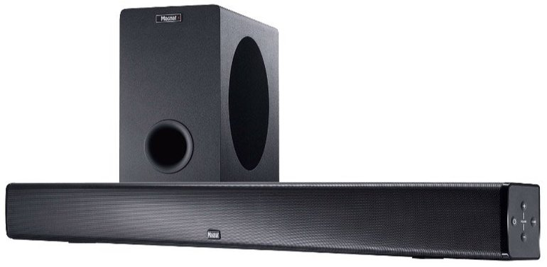 Magnat SBW 250 Soundbar mit Subwoofer und Bluetooth für 199€ (statt 227€)