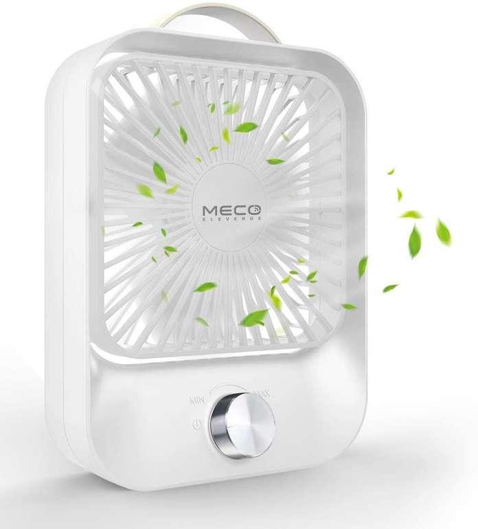 Meco Eleverde Mini Tischventilator für 9,99€ inkl. Prime Versand (statt 12€)