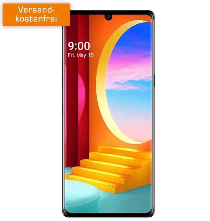 Top! LG Velvet 4G Dual-SIM Smartphone (4,85€) + Telefonica Super Select S Allnet Flat mit 6GB LTE für 14,99€ mtl.