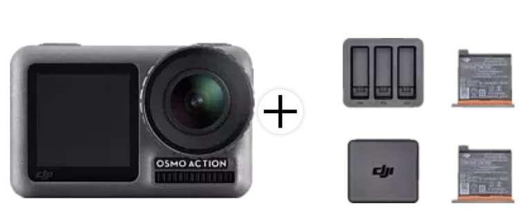 DJI Osmo Action-Kamera mit 4K HDR-Video + Ladekit mit 2 Akkus für 229€ inkl. Versand (statt 316€)