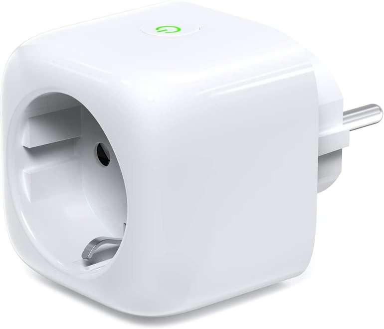 Koogeek Smart Plug WiFi Steckdose (Alexa, HomeKit/Google Assistant kompatibel) für 15,99€ - Prime!