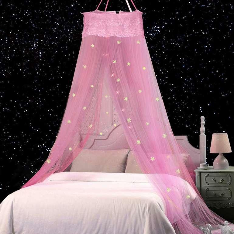 Jeteven Kinder Moskitonetz mit fluoreszierenden Sternen für je 12,59€ inkl. Prime Versand