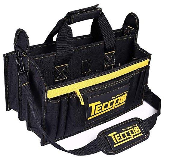 Teccpo Werkzeugtasche (9 Außen- und 7 Innentaschen) für 8,49 inkl. Versand (statt 33€)