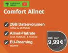 Vodafone Allnet + 2GB mit bis 42,2MBit/s + 100€ HolidayCheck für 9,99€ mtl.