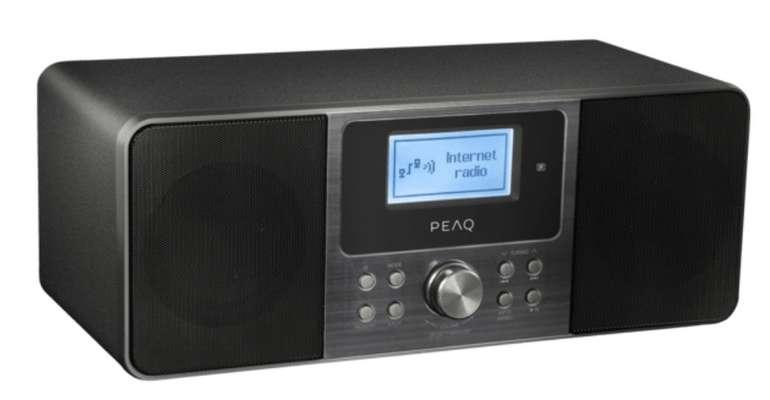 Peaq PDR 260 B Internetradio (FM, DAB, DAB+) für 89€ inkl. Versand (statt 130€)