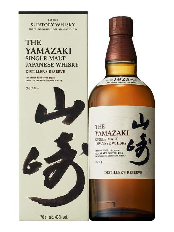 Suntory Yamazaki Distillers Reserve 43% Single Malt Whisky (0,7L) für 77,31€ inkl. Versand