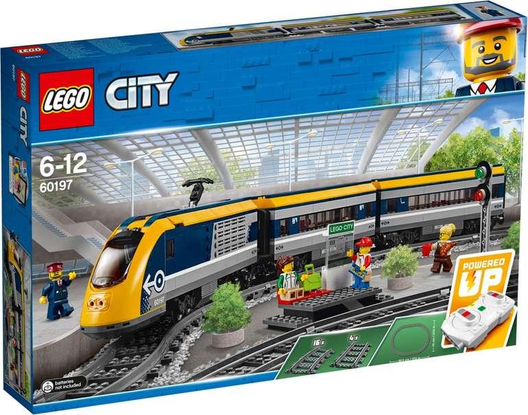 Lego City - Personenzug (60197) für 79,90€ inkl. Versand (statt 85€)
