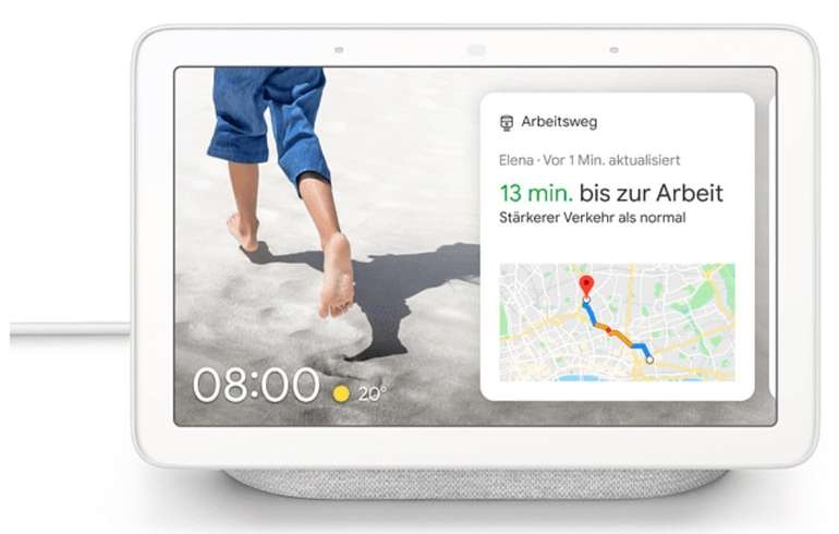 Google Nest Hub Streaming Lautsprecher + Philips Hue White Amb. E27 LED Lampe für 89,99€ (statt 121€)