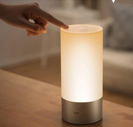 Xiaomi Mijia LED-Nachttischlampe (Bluetooth, WiFi, Touch) für 41,74€ inkl. VSK