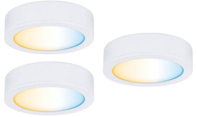 Paulmann Clever Connect Starter Set Disc (3x 2,1 W, 85 lm, Tunable White) für 50,95€