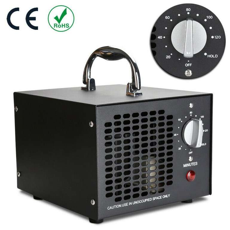 Ozonisator Ozon Luftreiniger (5000mg/h) für 50,99€ inkl. Versand (statt 60€)