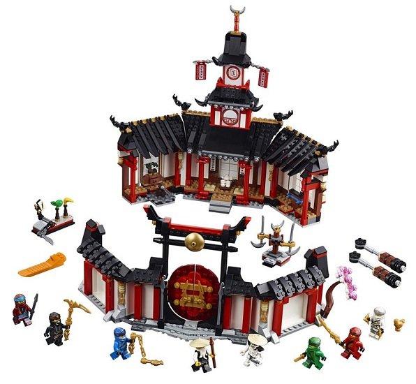 LEGO 70670 Ninjago - Kloster des Spinjitzu
