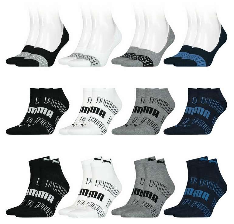 16 Paar Puma Footies Sneaker Quarter Socken (Damen & Herren) für 29,99€ inkl. Versand (statt 35€)