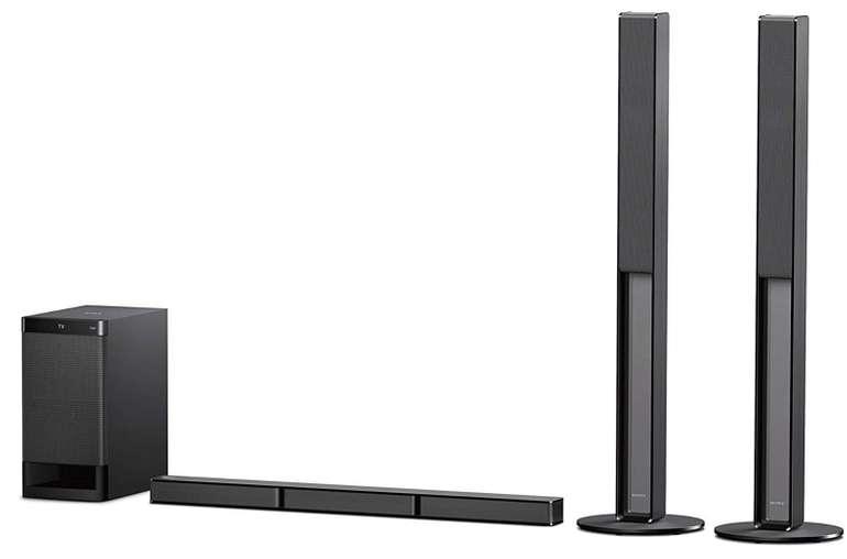 Sony HT-RT4 5.1 Soundbar System (600W, hohe Rücklautsprecher, HDMI, USB, NFC/Bluetooth) für 229€