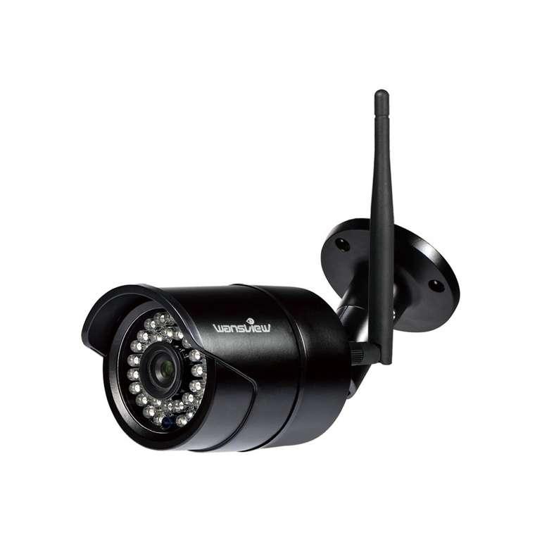Wansview WLAN IP 1080P Überwachungskamera W2-B (Nachtsicht, IP65) für 30,24€