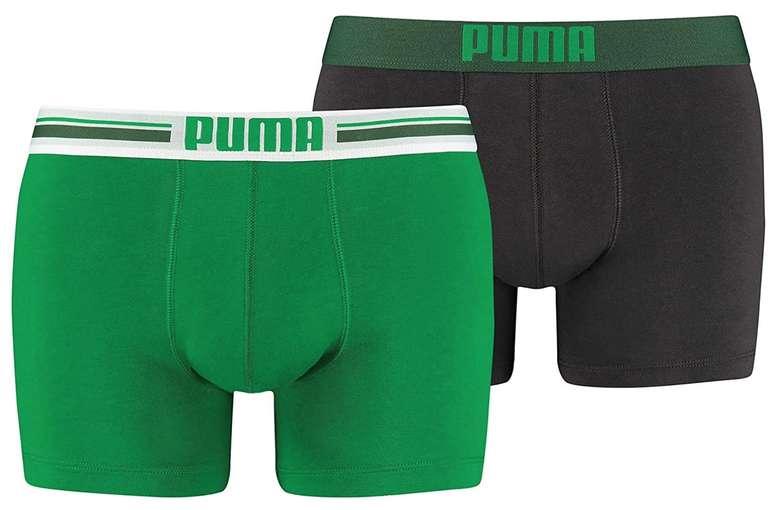 2er Pack Puma Placed Logo Herren Boxershorts für 9€ inkl. Prime Versand (statt 15€)
