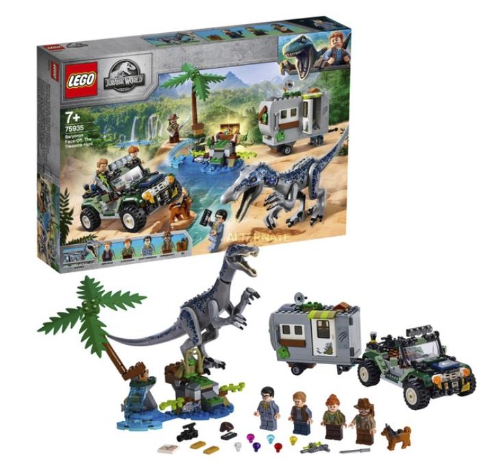 Lego Jurassic World World Baryonyxs Kräftemessen (75935) für 49,98€inkl. Versand (statt 57€)