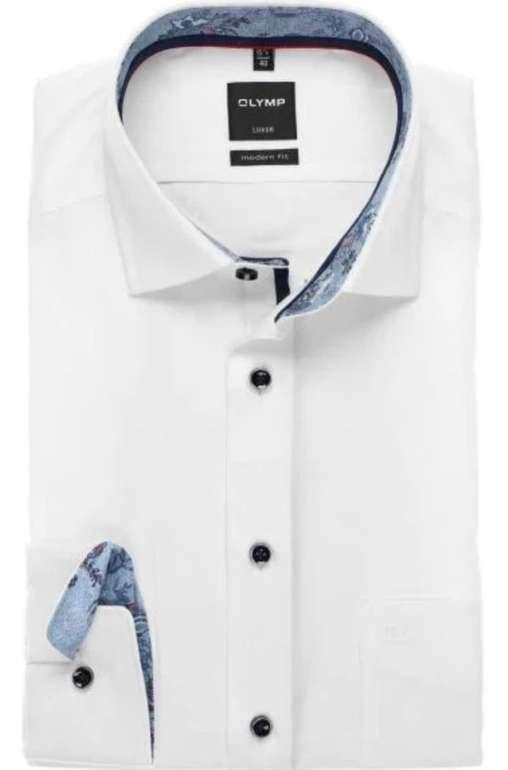 17% Rabatt auf alles bei Hemden.de (auch Sale) - z.B. Olymp Luxor Modern Fit Hemd für 24,85€ (statt 38€)