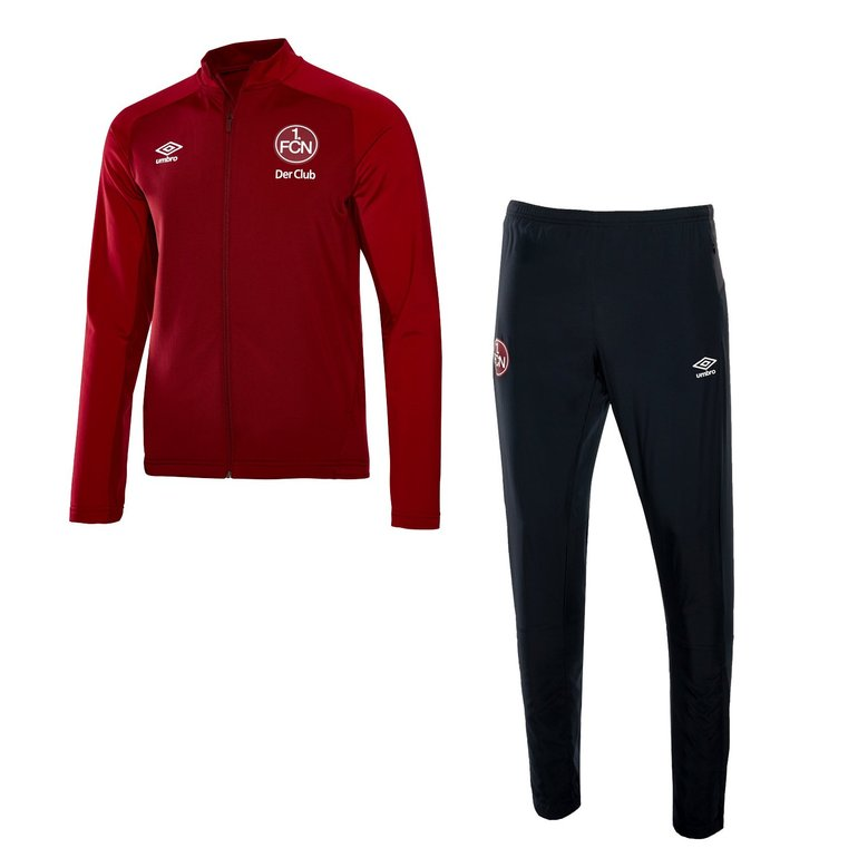 Umbro 1. FC Nürnberg Knit Suit Jr. Kinder Trainingsanzug für 19€ inkl. VSK