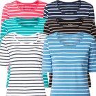 Montego Streifenmuster T-Shirt in 6 Farben für je 7,99€ inkl. VSK (statt 10€)