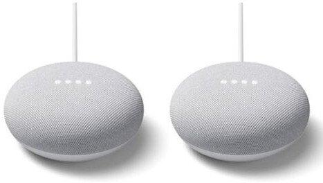 Doppelpack Google Nest Mini + 6 Monate Spotify für 39€ inkl. Versand (statt 74€)