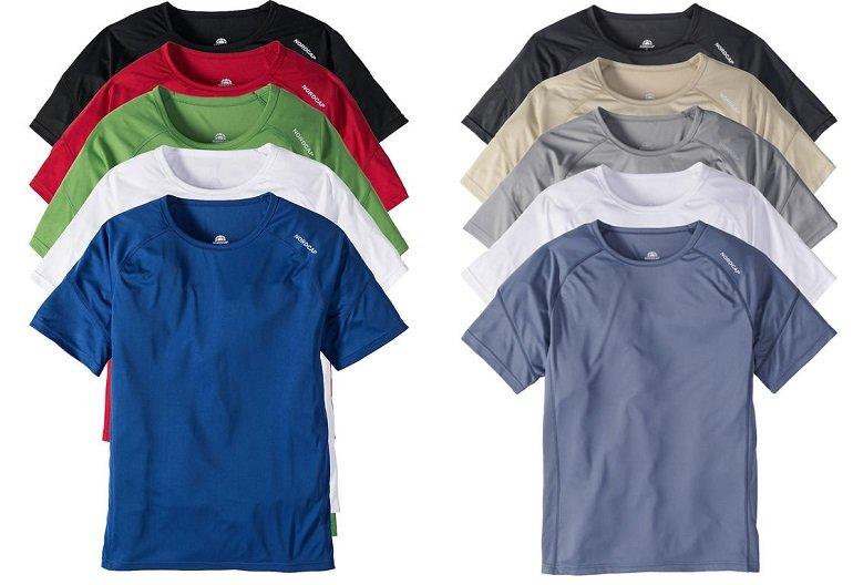 5er Pack Nordcap Funktionsshirts