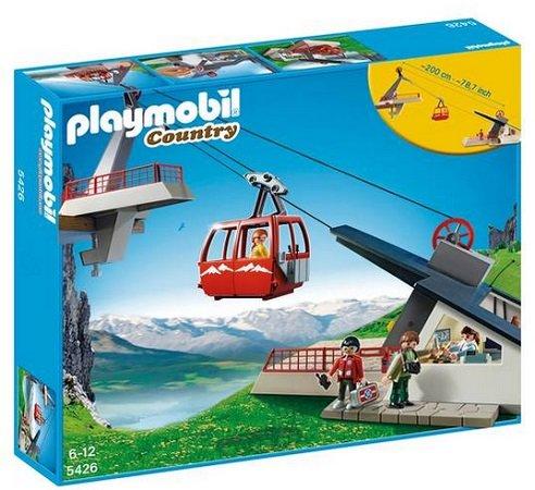 Playmobil (5426) - Country Seilbahn mit Bergstation für 29,14€ (statt 59€)